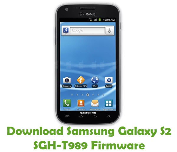 Download Samsung Galaxy S2 SGH-T989 Firmware