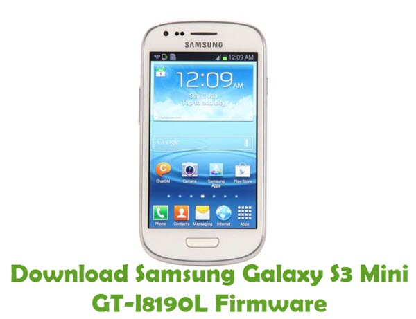 Download Samsung Galaxy S3 Mini GT-I8190L Firmware