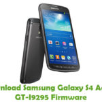 Samsung Galaxy S4 Active GT-I9295 Firmware