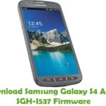 Samsung Galaxy S4 Active SGH-I537 Firmware