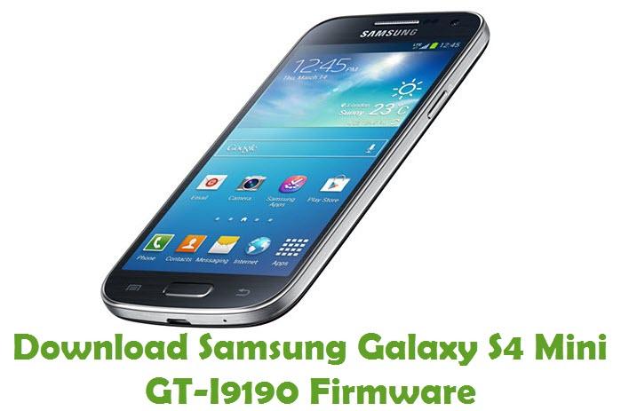 Download Samsung Galaxy S4 Mini GT-I9190 Stock ROM