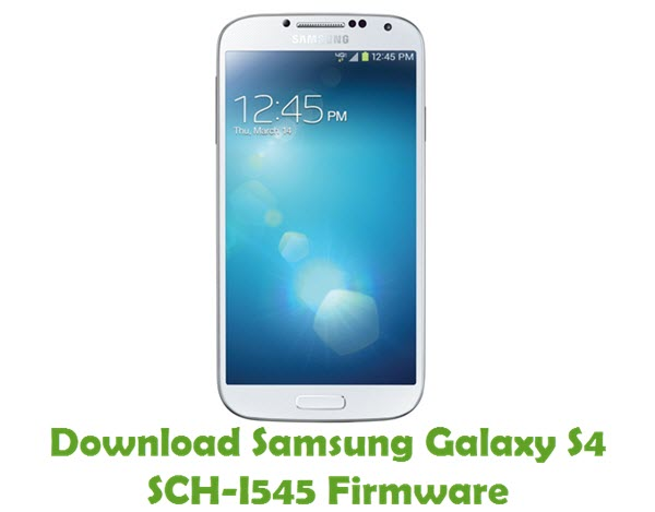 Download Samsung Galaxy S4 SCH-I545 Firmware