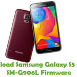Samsung Galaxy S5 LTE-A SM-G906L Firmware