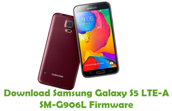 Download Samsung Galaxy S5 LTE-A SM-G906L Firmware