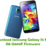 Samsung Galaxy S5 Mini SM-G800F Firmware