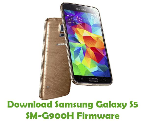 Download Samsung Galaxy S5 SM-G900H Stock ROM