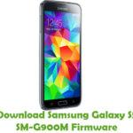 Samsung Galaxy S5 SM-G900M Firmware
