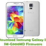 Samsung Galaxy S5 SM-G900MD Firmware