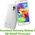 Samsung Galaxy S5 SM-G901F Firmware