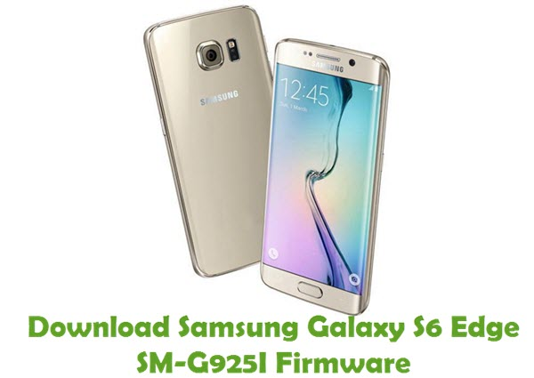 Download Samsung Galaxy S6 Edge SM-G925I Firmware