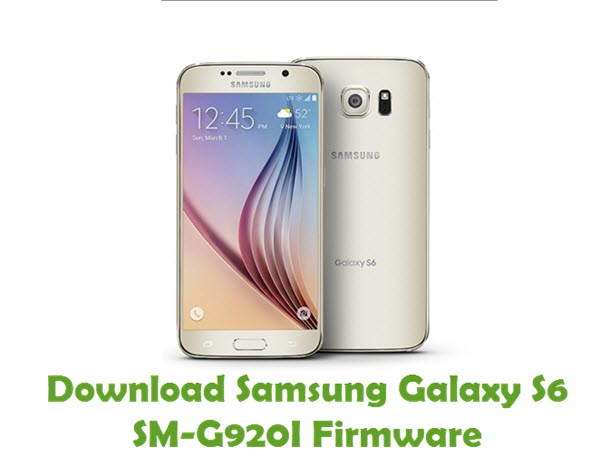 Download Samsung Galaxy S6 SM-G920I Firmware