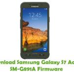 Samsung Galaxy S7 Active SM-G891A Firmware