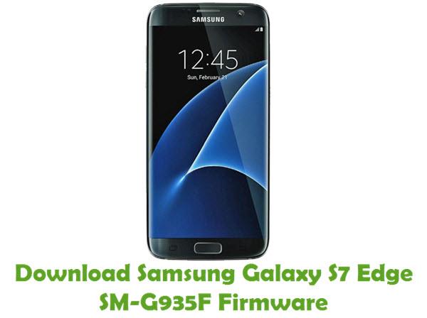 Download Samsung Galaxy S7 Edge SM-G935F Stock ROM