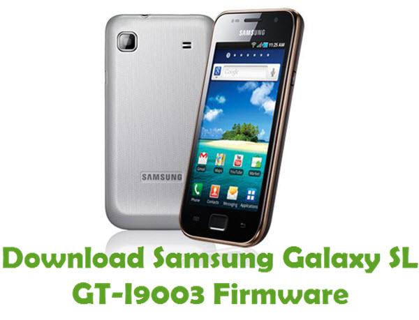 Download Samsung Galaxy SL GT-I9003 Stock ROM