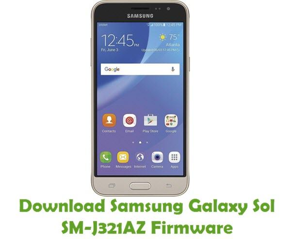 Download Samsung Galaxy Sol SM-J321AZ Stock ROM