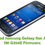 Samsung Galaxy Star Advance SM-G350E Firmware