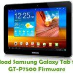 Samsung Galaxy Tab 10.1 3G GT-P7500 Firmware