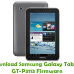 Samsung Galaxy Tab 7.0 GT-P3113 Firmware