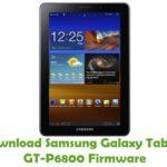 Samsung Galaxy Tab 7.7 GT-P6800 Firmware