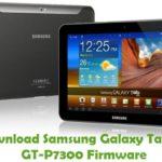 Samsung Galaxy Tab 8.9 GT-P7300 Firmware