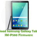 Samsung Galaxy Tab A 10.1 SM-P580 Firmware