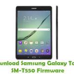 Samsung Galaxy Tab A SM-T550 Firmware