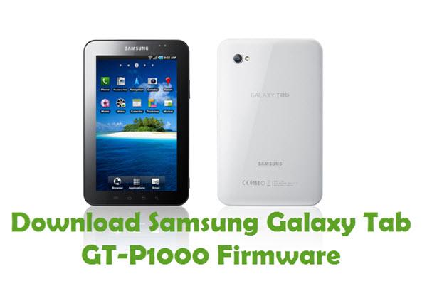 Download Samsung Galaxy Tab GT-P1000 Stock ROM