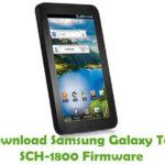 Samsung Galaxy Tab SCH-1800 Firmware