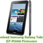 Samsung Galaxy Tab2 7.0 GT-P3100 Firmware