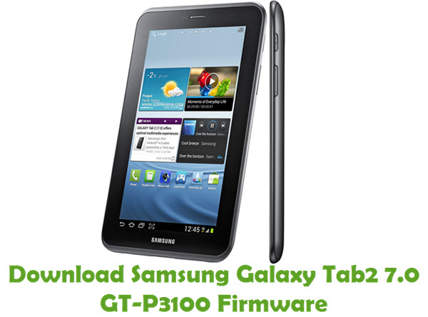 Download Samsung Galaxy Tab2 7.0 GT-P3100 Stock ROM