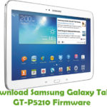 Samsung Galaxy Tab3 GT-P5210 Firmware