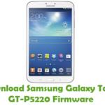 Samsung Galaxy Tab3 GT-P5220 Firmware