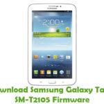 Samsung Galaxy Tab3 SM-T2105 Firmware
