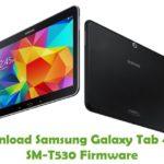 Samsung Galaxy Tab4 10.1 SM-T530 Firmware