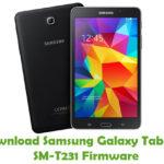 Samsung Galaxy Tab4 7.0 SM-T231 Firmware