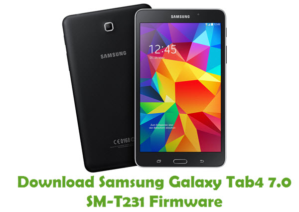 Download Samsung Galaxy Tab4 7.0 SM-T231 Firmware