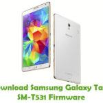 Samsung Galaxy Tab4 SM-T531 Firmware