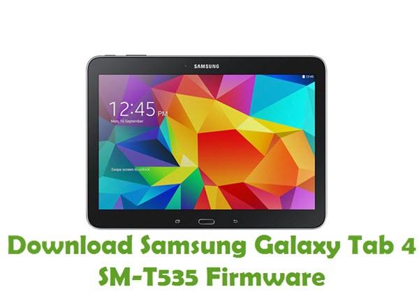 Download Samsung Galaxy Tab4 SM-T535 Firmware