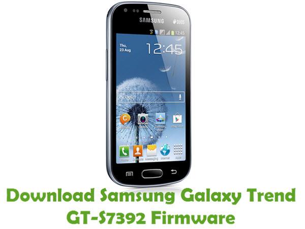 Download Samsung Galaxy Trend GT-S7392 Firmware
