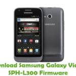 Samsung Galaxy Victory SPH-L300 Firmware