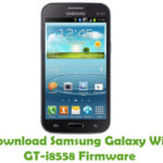 Samsung Galaxy Win GT-i8558 Firmware