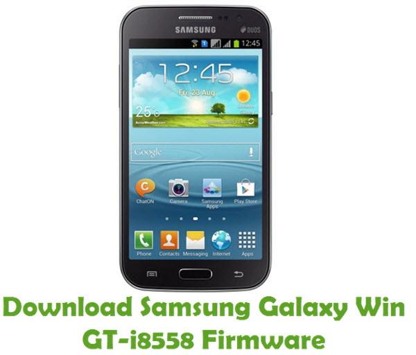 Download Samsung Galaxy Win GT-i8558 Stock ROM