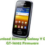 Samsung Galaxy Y Duos GT-S6102 Firmware