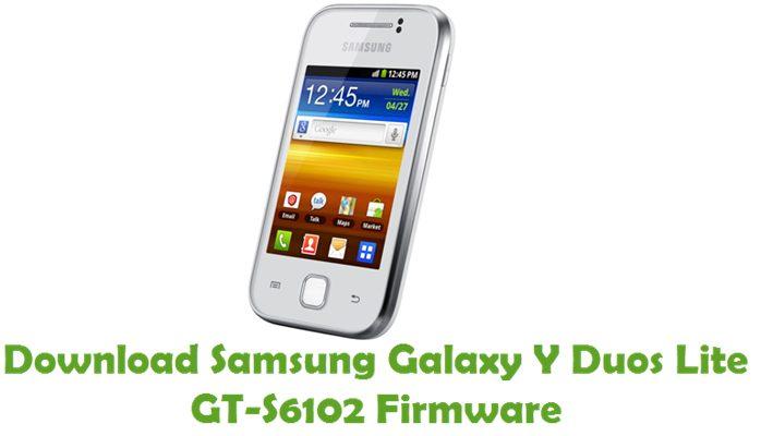 Download Samsung Galaxy Y Duos Lite GT-S6102 Stock ROM
