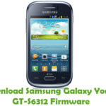 Samsung Galaxy Young GT-S6312 Firmware
