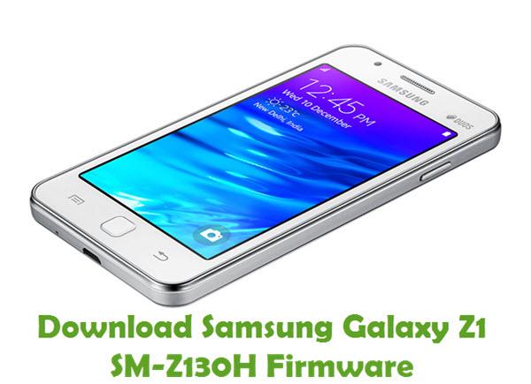 Download Samsung Galaxy Z1 SM-Z130H Stock ROM