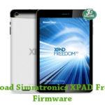Simmtronics XPAD Freedom Firmware