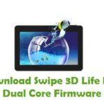 Swipe 3D Life Plus Dual Core Firmware