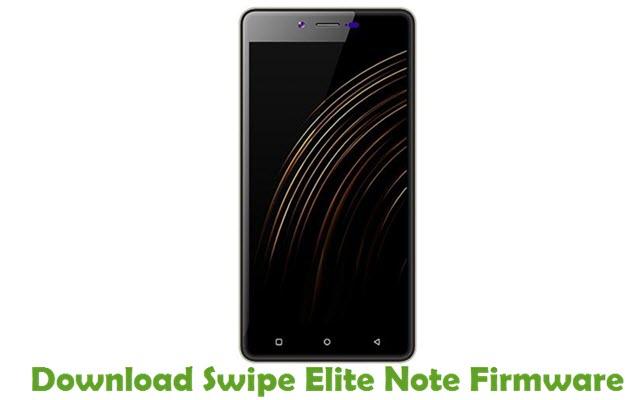 Download Swipe Elite Note Firmware