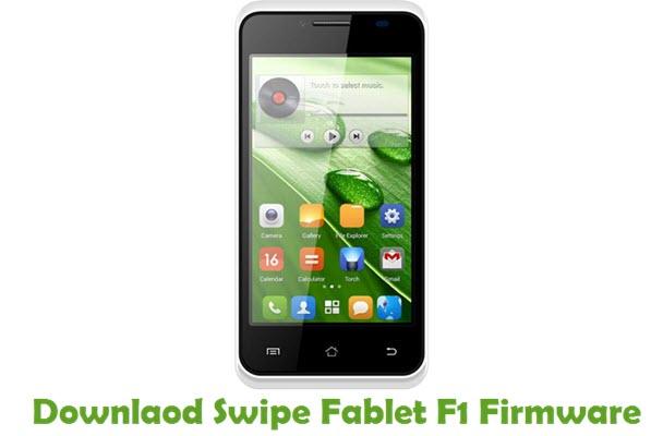 Download Swipe Fablet F1 Firmware